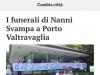 Il Giorno - 29.08.2017 - La CdM ai funerali di Nanni Svampa