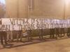 Striscione Ultras Milano