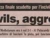La Gazzetta dello sport  DERBY ANNI '90 Titolo